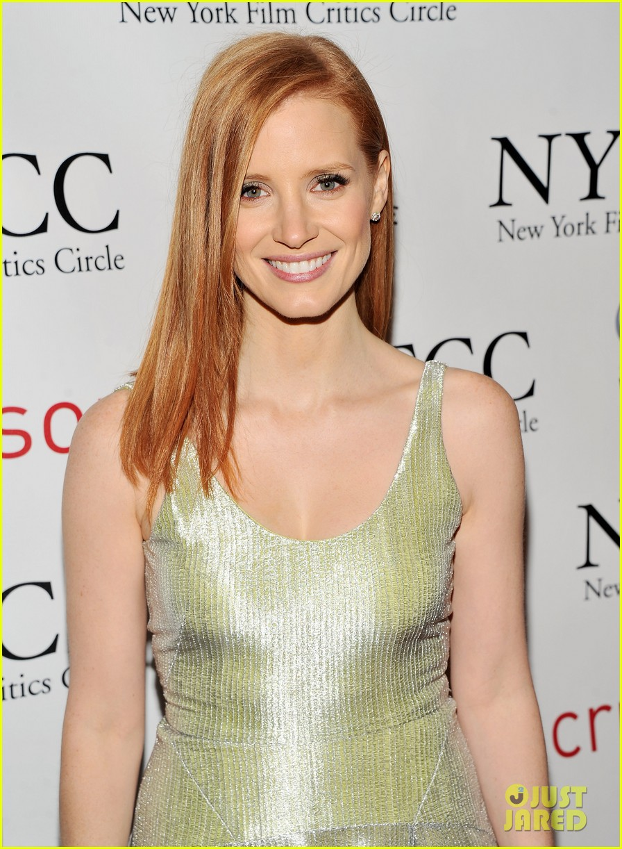 jessica chastain critics circle awards 10