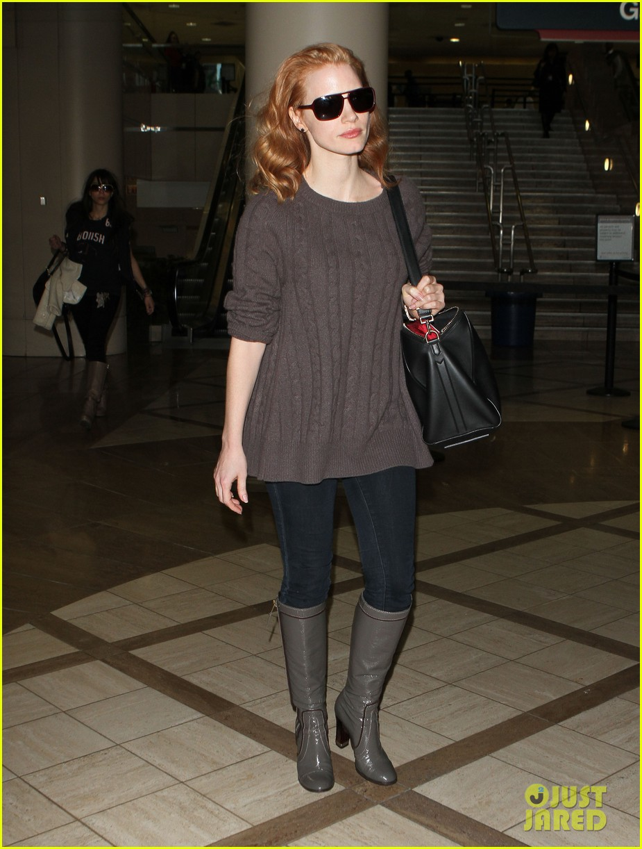 jessica chastain lax 132619603