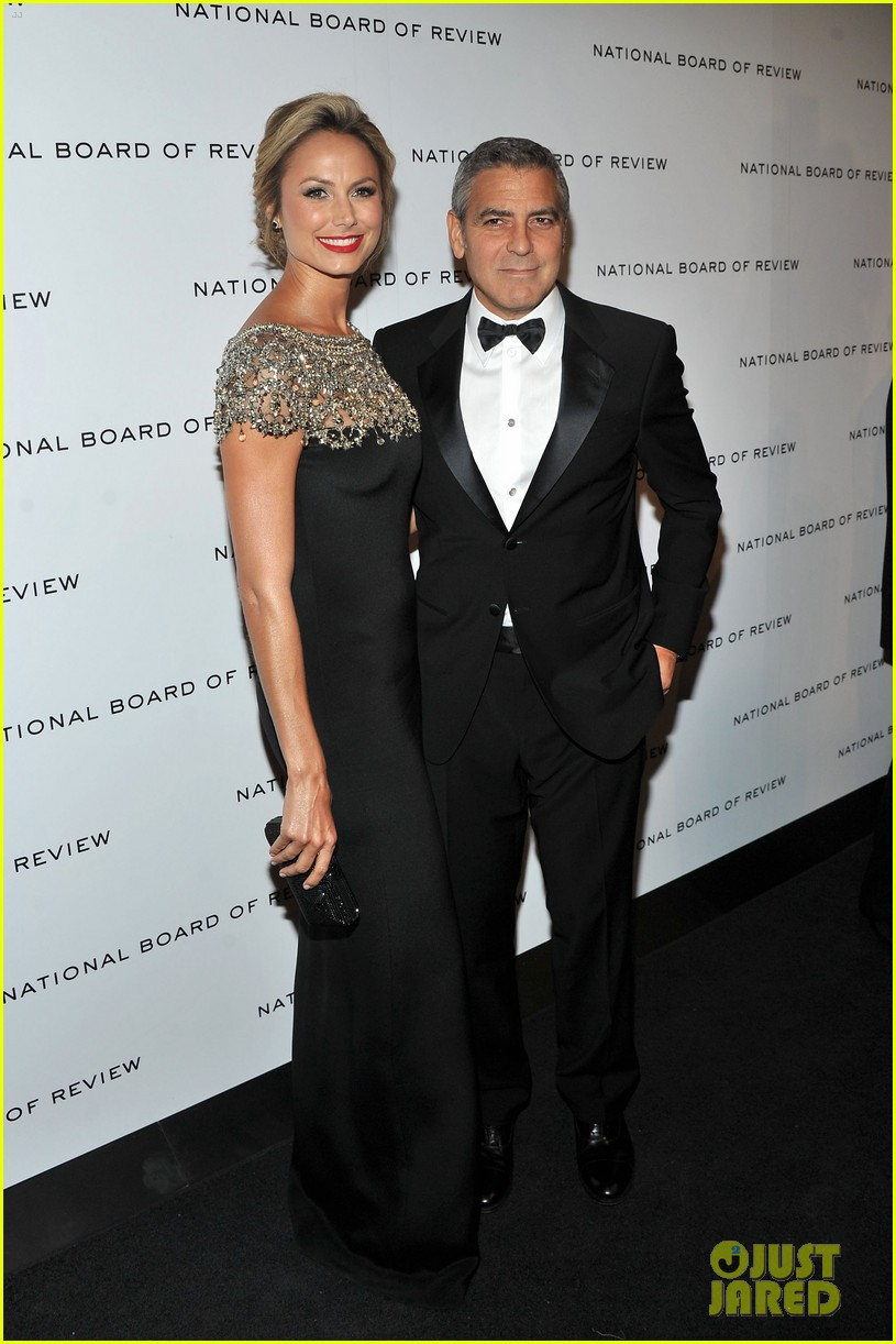george clooney stacy keibler national board gala 01