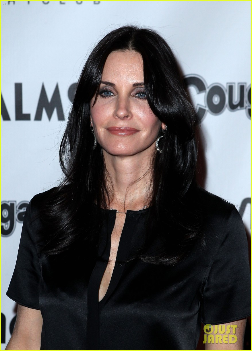 courteney cox cougar town viewing party las vegas 08