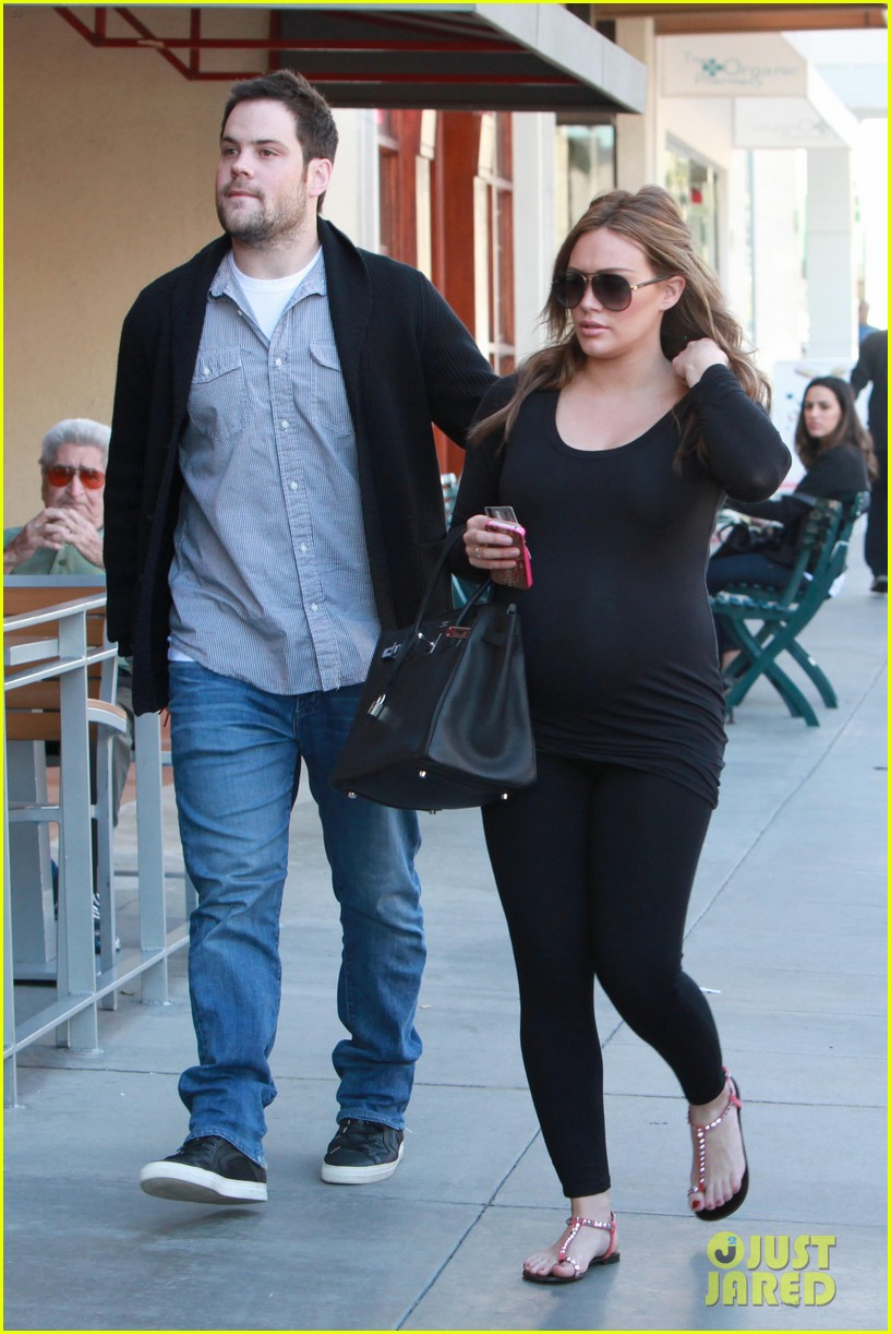 hilary duff mike comrie checkup doctor 01