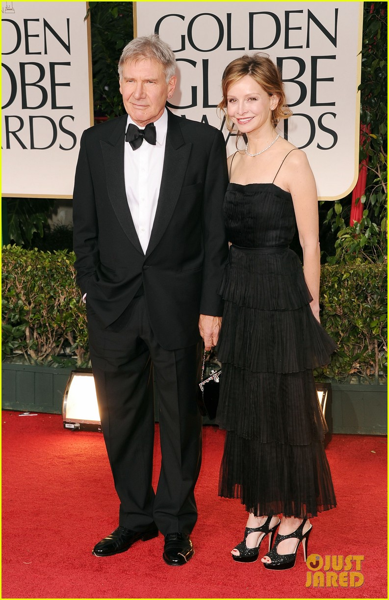 harrison ford calista golden globes 03