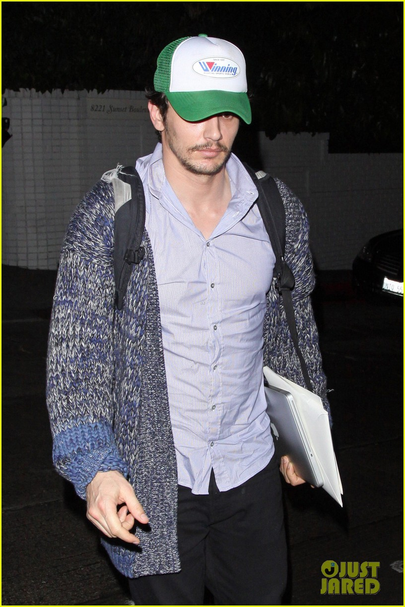 james franco trucker hat chateau marmont 022619130
