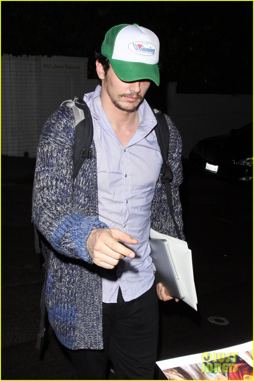 james franco trucker hat chateau marmont 032619131