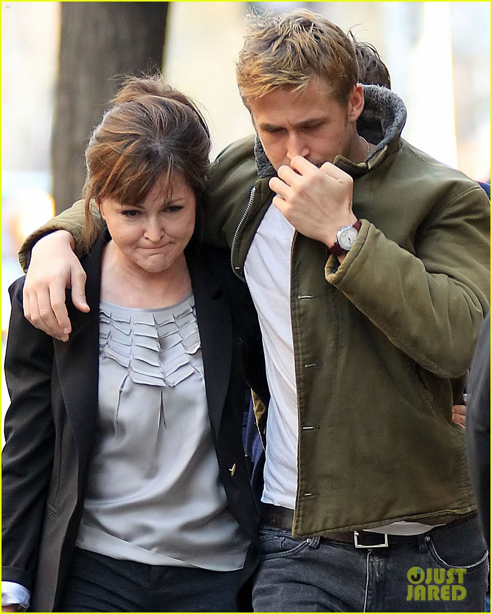 ryan gosling eva mendes day out in new york 072613921