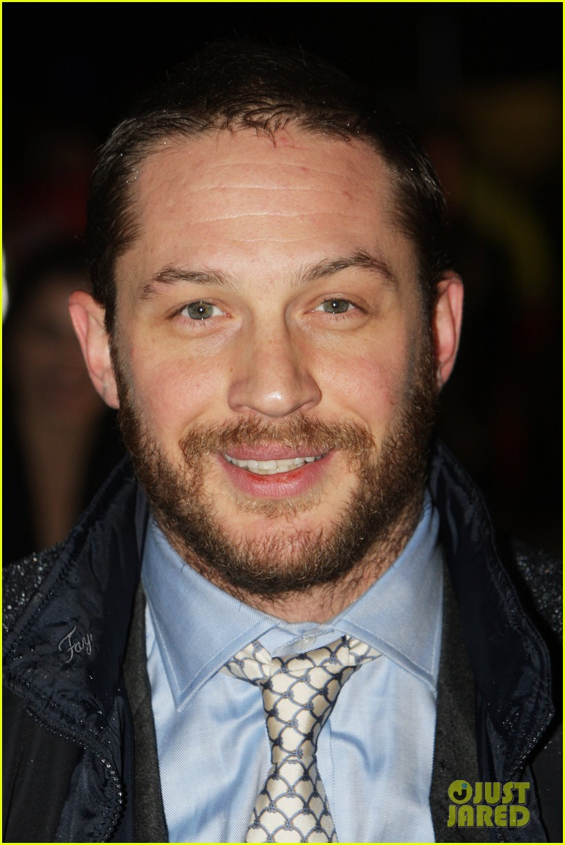 tom hardy iron lady european premiere 06