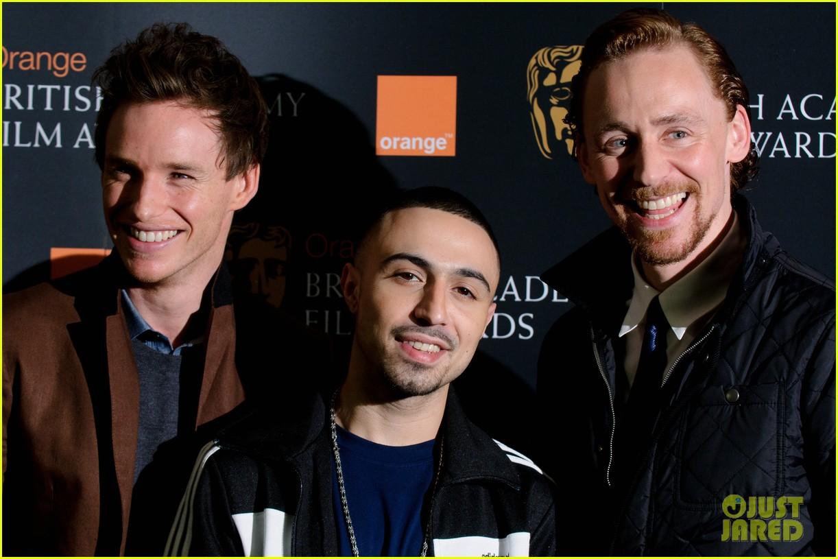 tom hiddleston eddie redmayne bafta orange 10