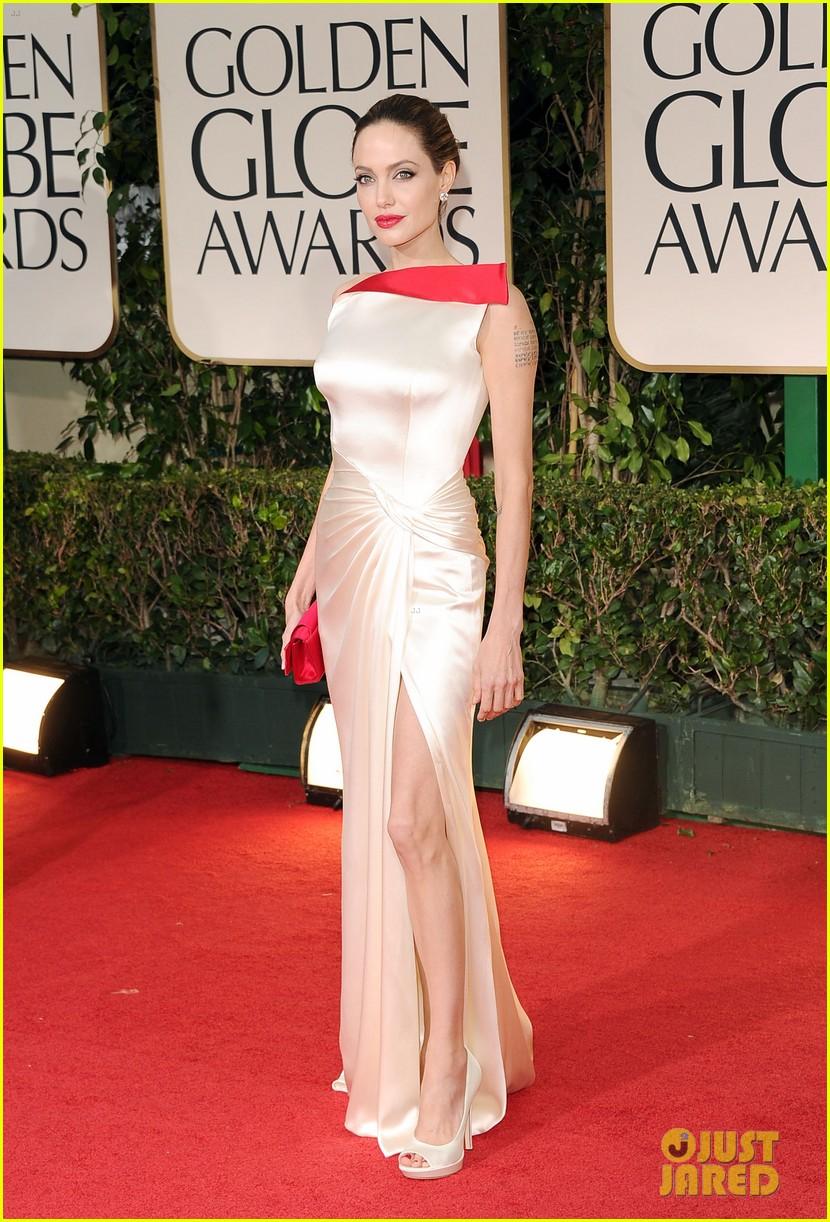 Angelina Jolie: Golden Globes with Brad Pitt!: Photo ...
