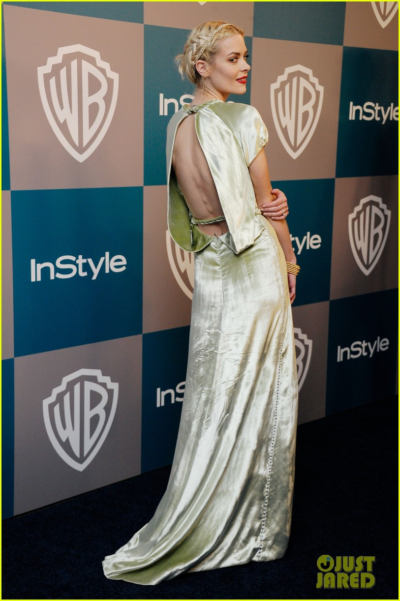 jaime king felicity jones golden globes after party 01