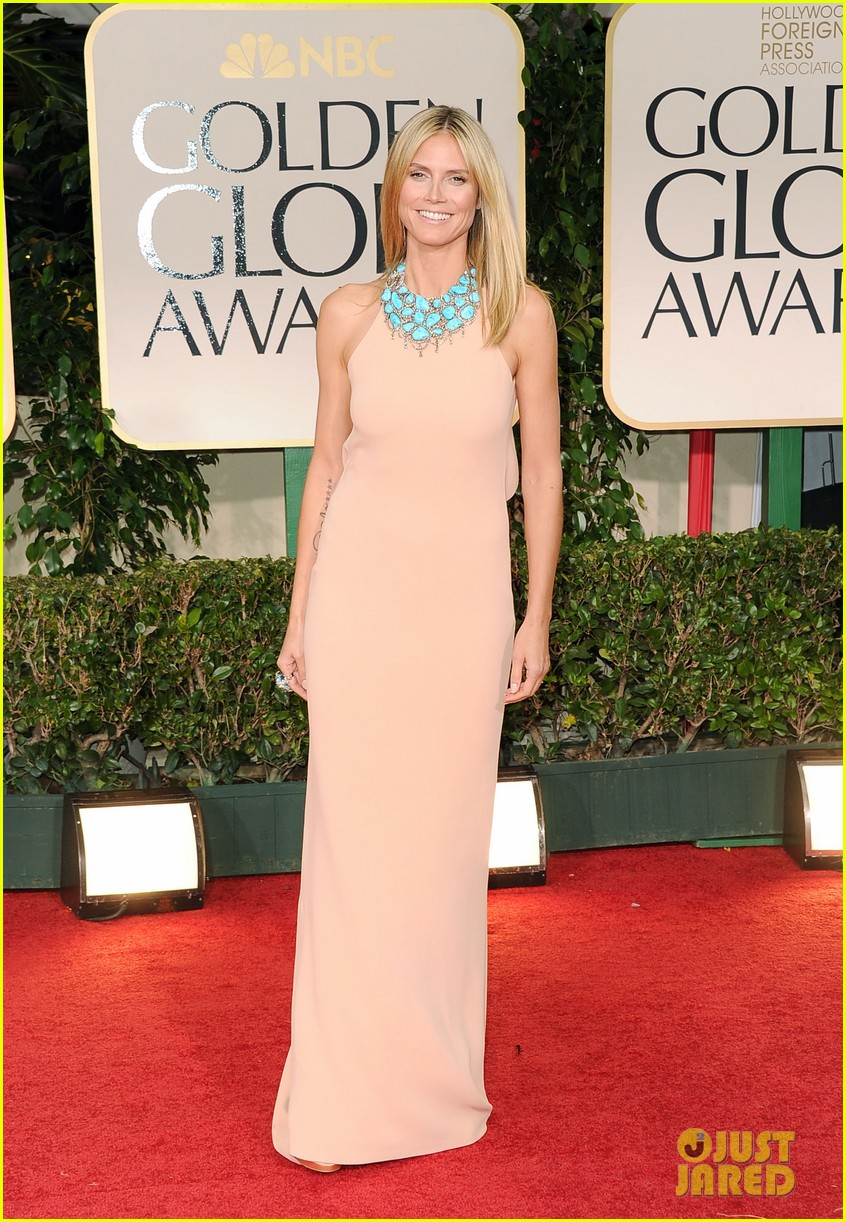 heidi klum golden globes 05