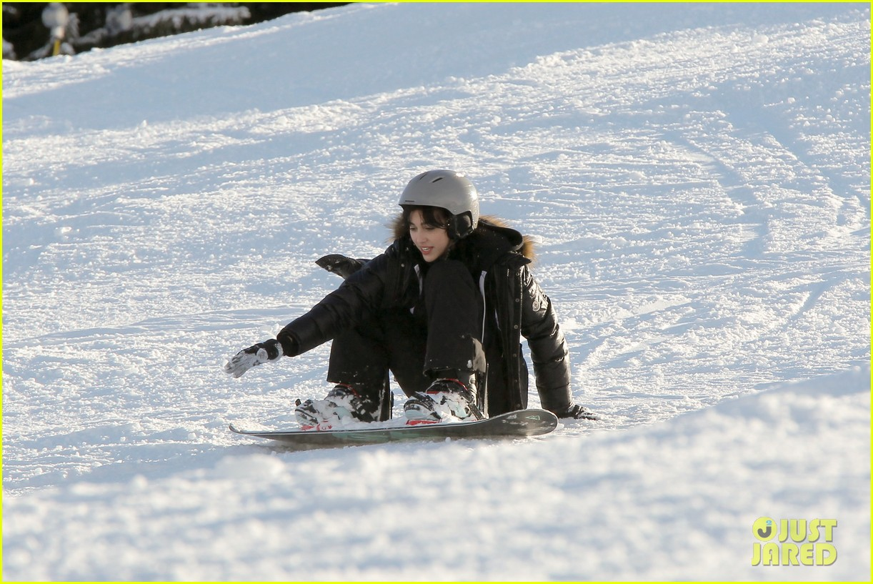 madonna kids skiing switzerland 01