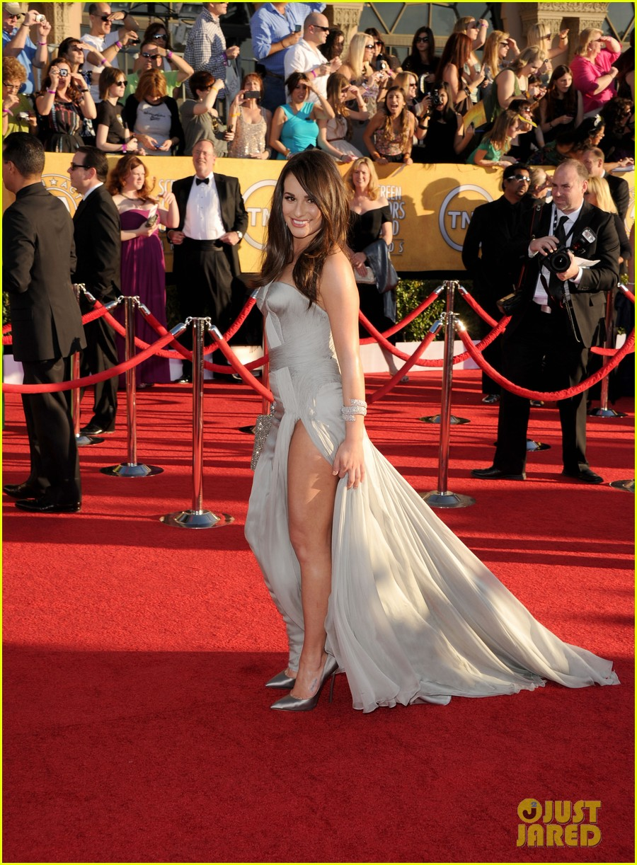 lea michele 2012 sag awards 03