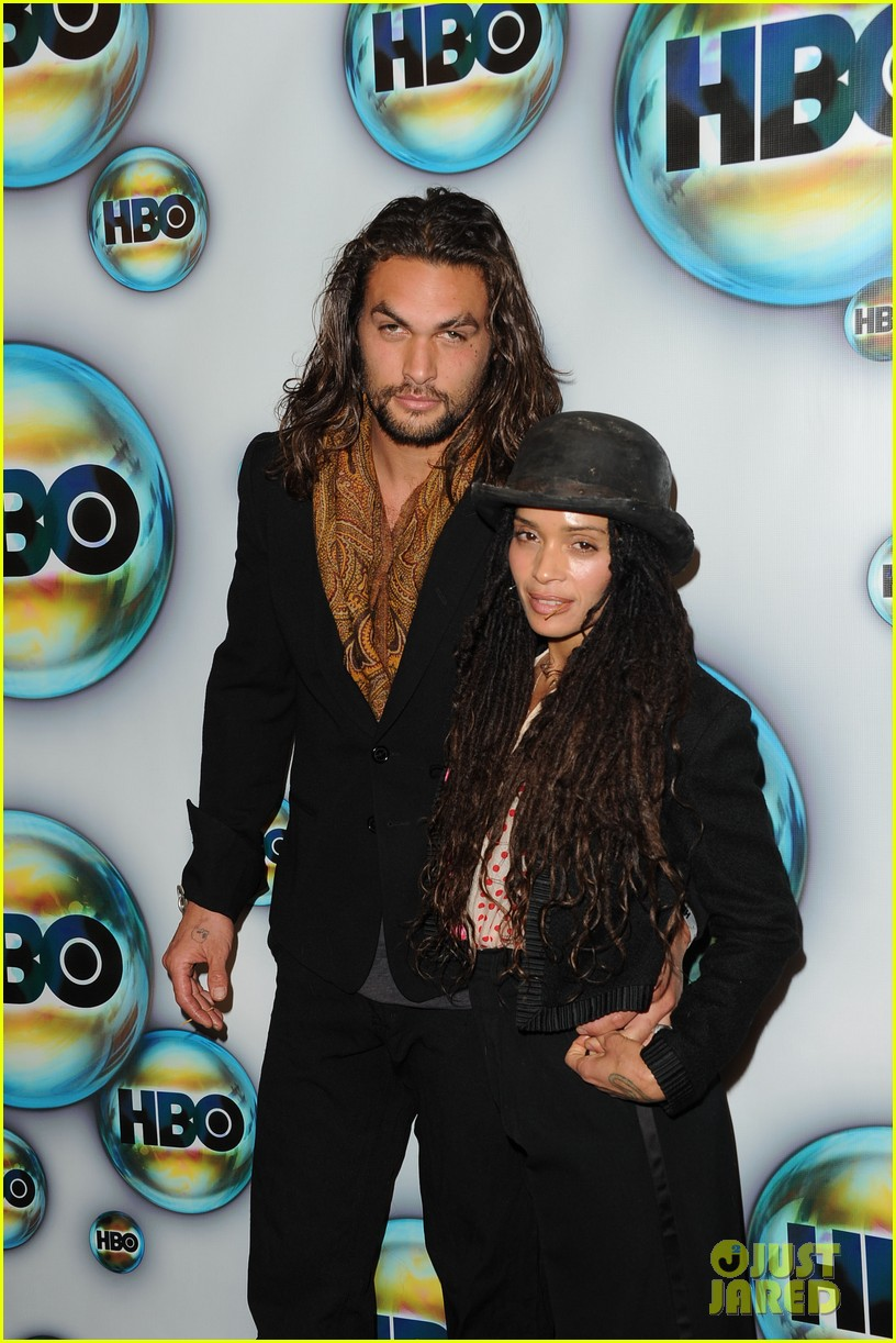 jason momoa lisa bonet hbo golden globes party 03