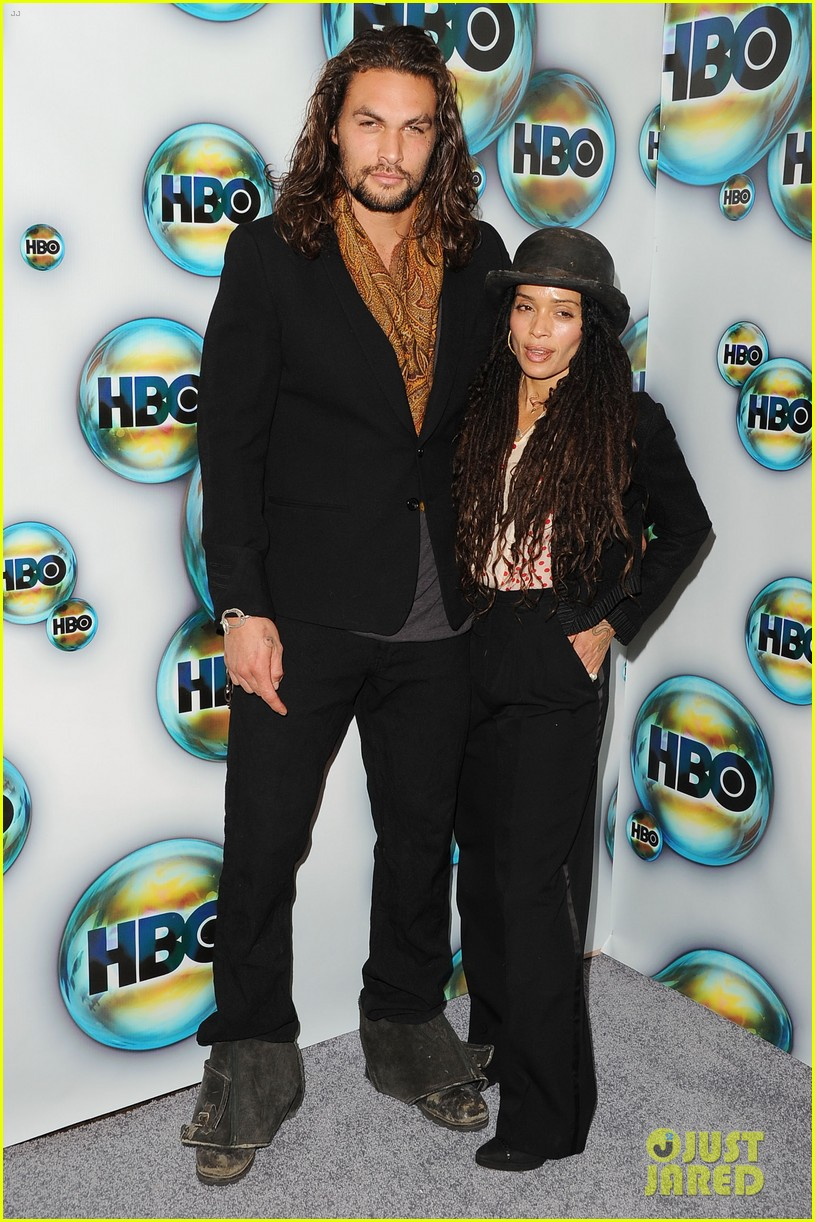 jason momoa lisa bonet hbo golden globes party 04