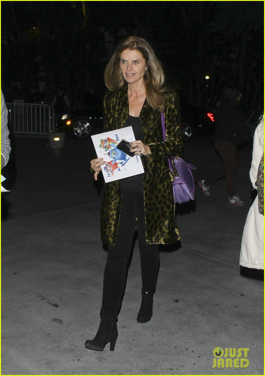 maria shriver patrick schwarzenegger staples center 01