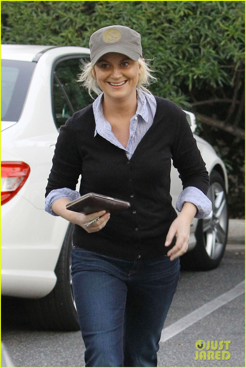 amy poehler abel arnett shopping 05