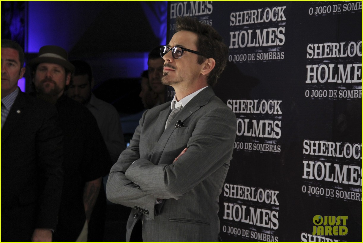 robert downey jr sherlock holmes brazil premiere 10