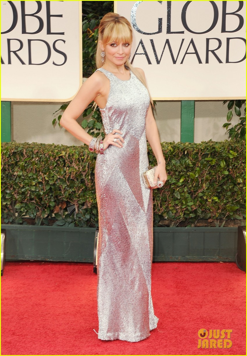 nicole richie golden globes 2012 06