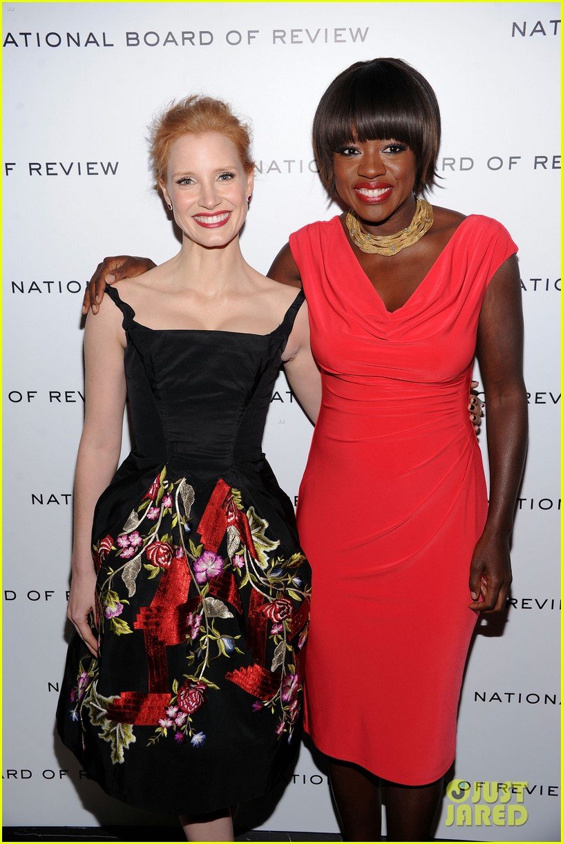 emma stone jessica chastain national board review 02