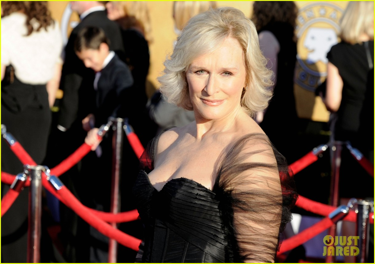 meryl streep glenn close sag awards 2012 08