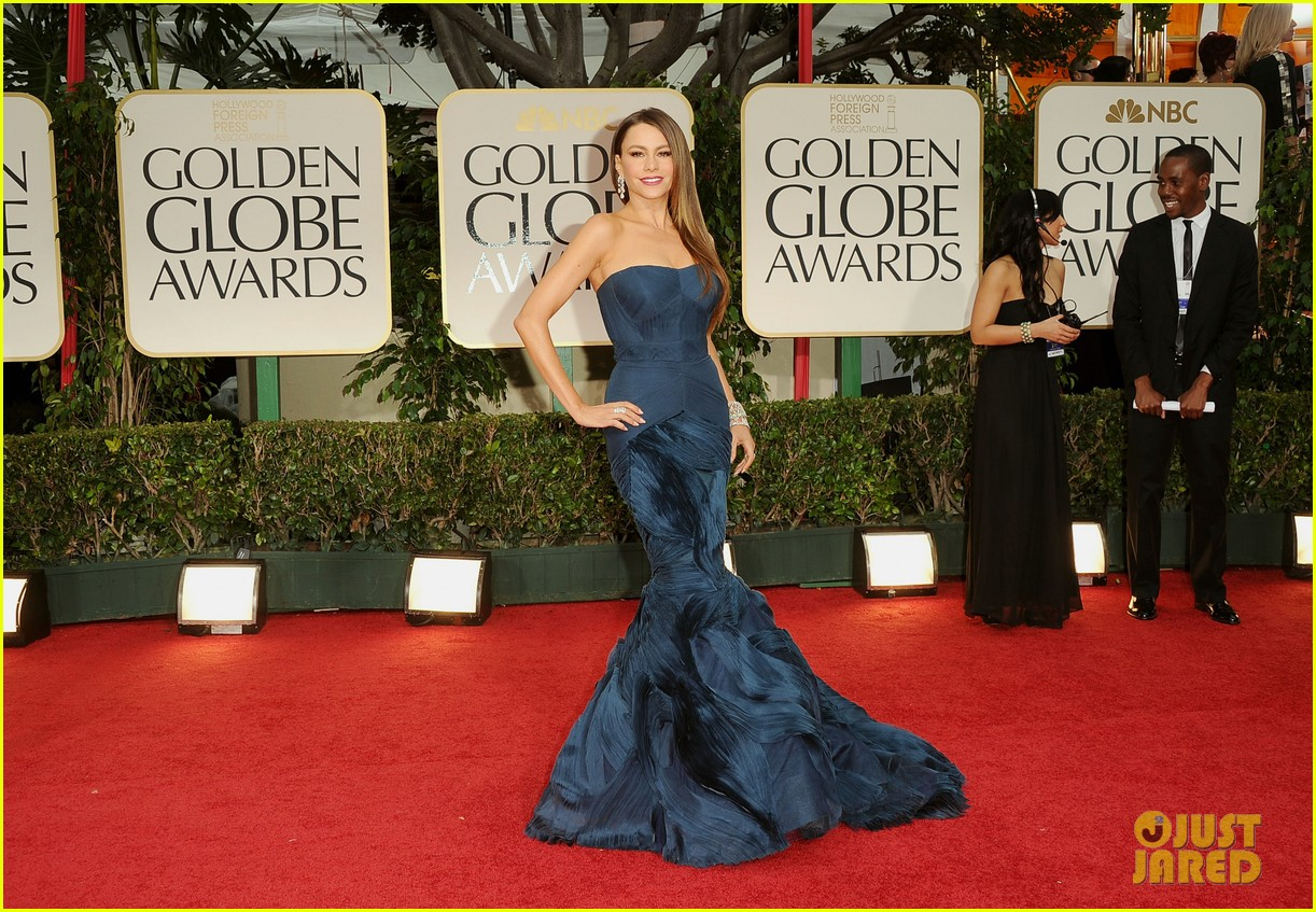 sofia vergara golden globes 05