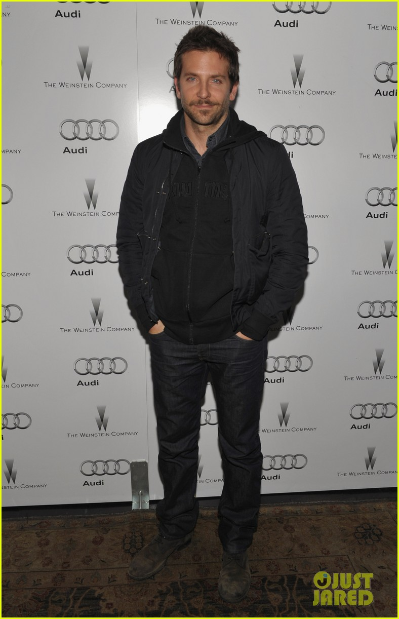 michelle williams bradley cooper weinstein party 07