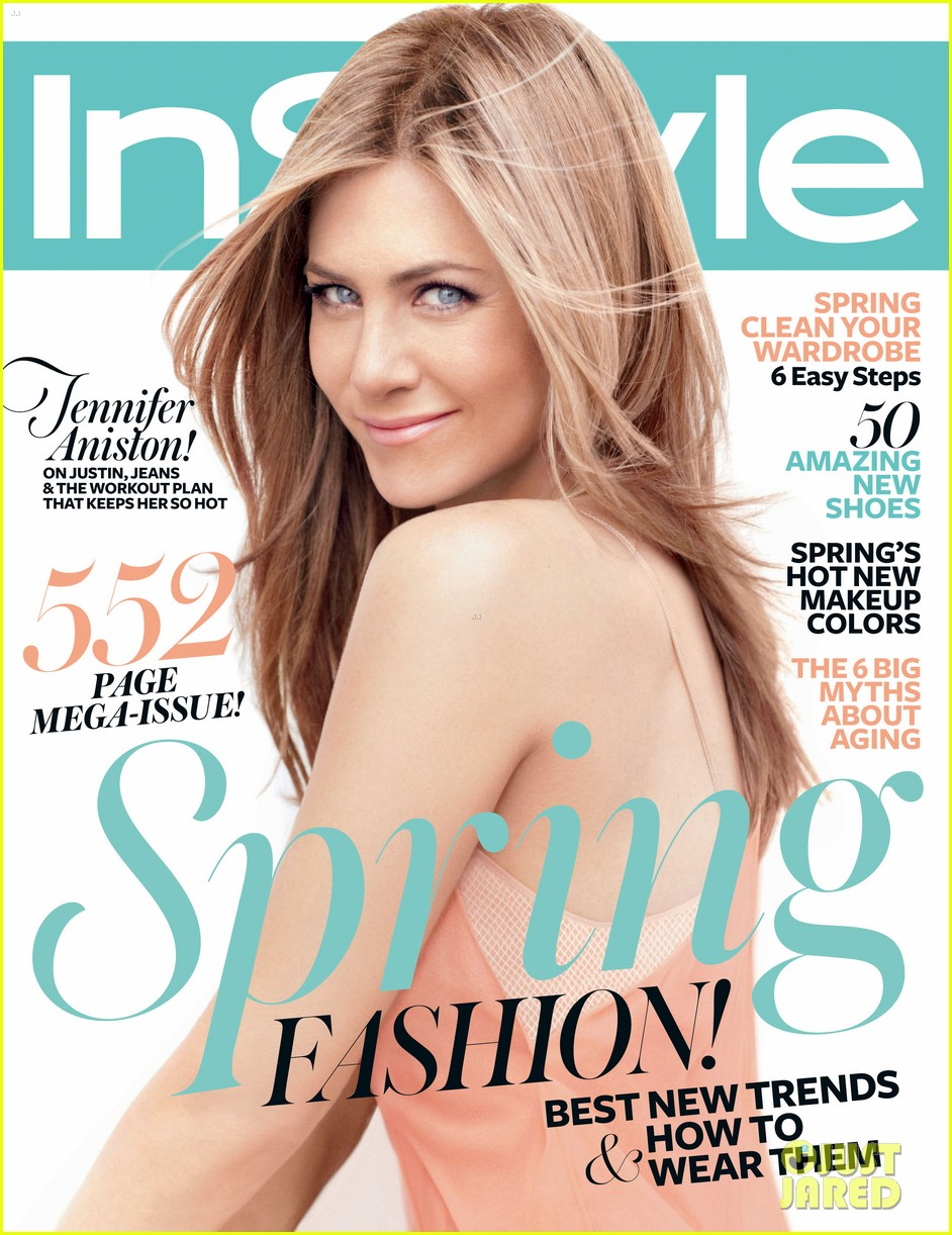 jennifer aniston covers 39 instyle 39 march 2012 photo 2626250 jennifer aniston magazine. Black Bedroom Furniture Sets. Home Design Ideas