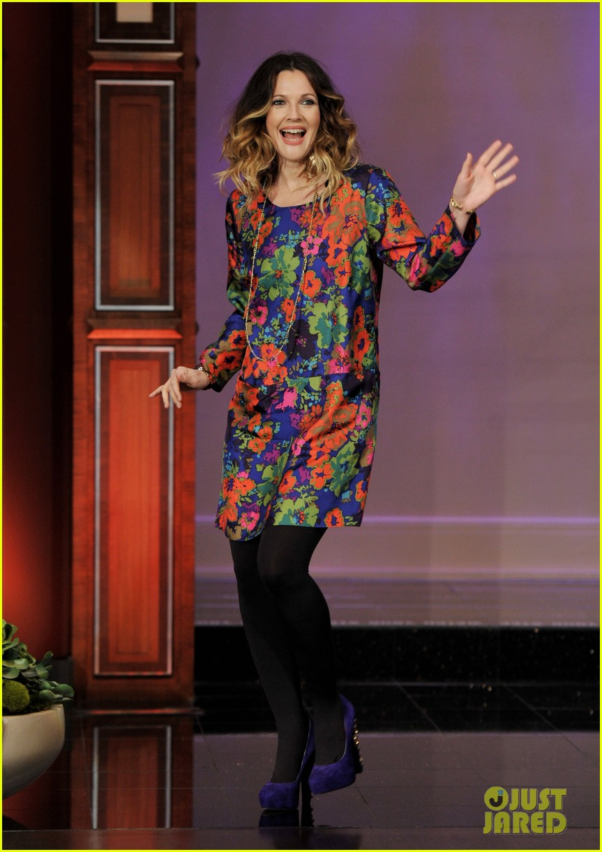 drew barrymore tonight show with jay leno appearance 022624853