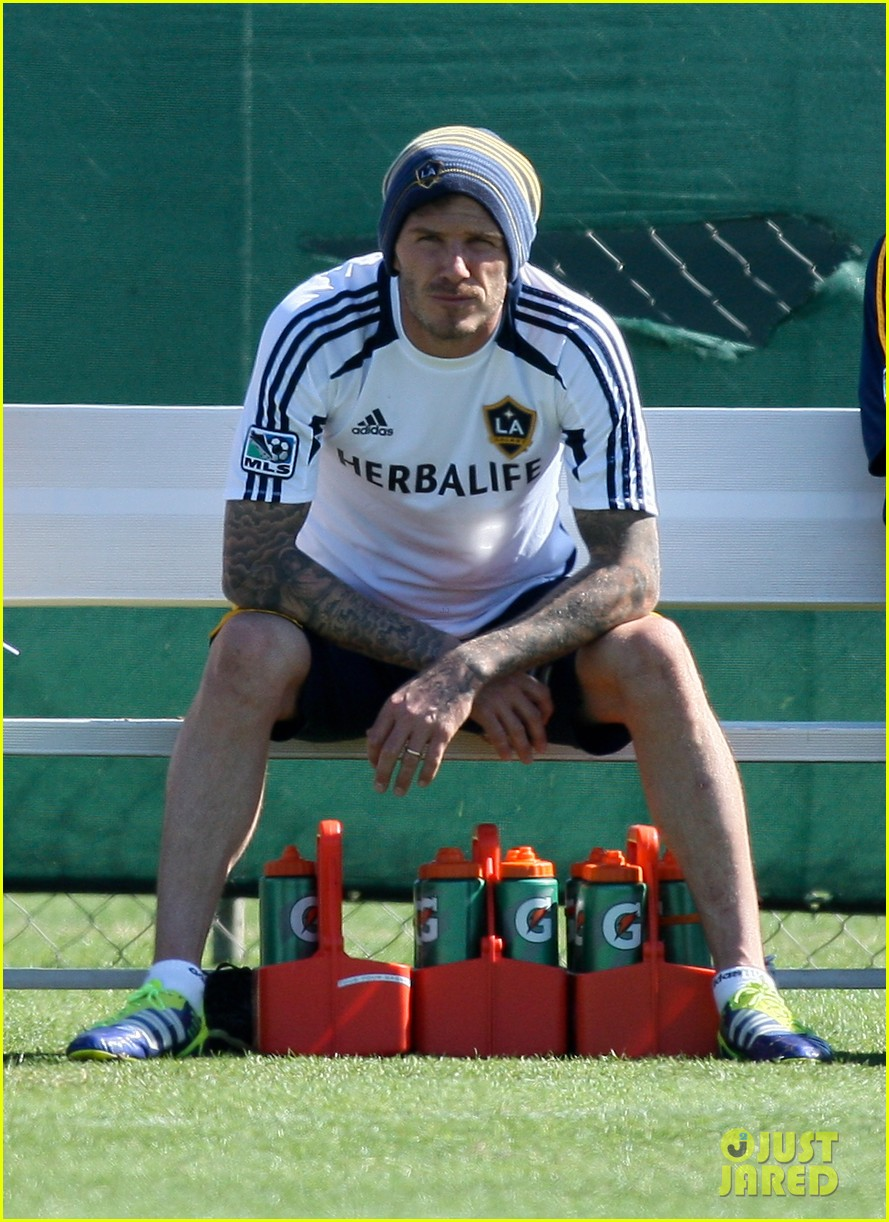 david beckham pre game time 02