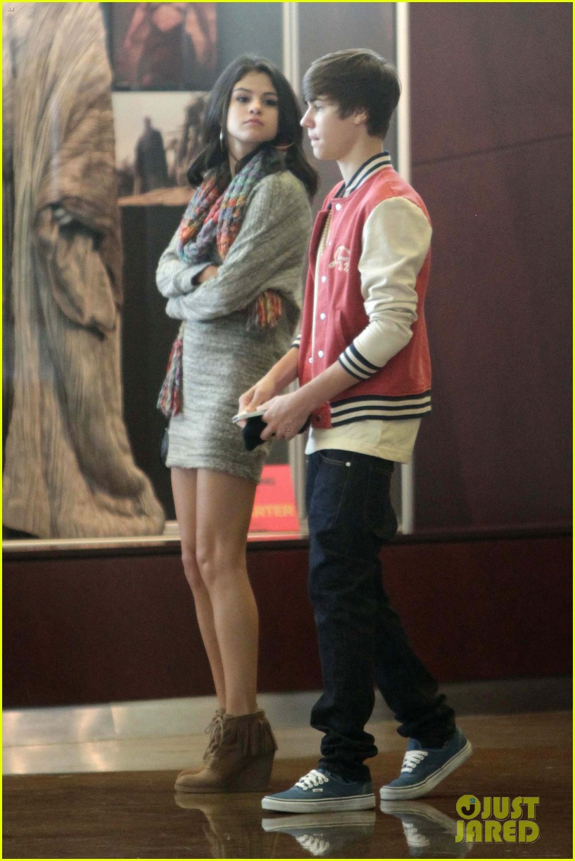 justin bieber selena gomez saturday night date 06