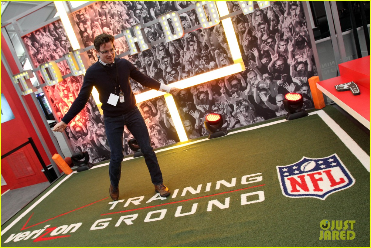 matt bomer super bowl events with son kit 13