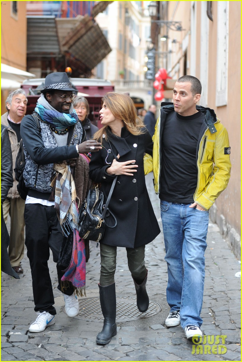 elisabetta canalis steve o romance in rome 07