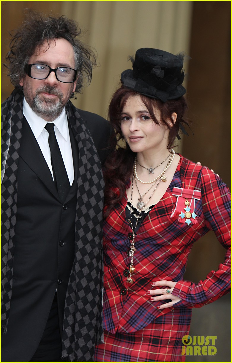 helena bonham carter tim burton investiture 08