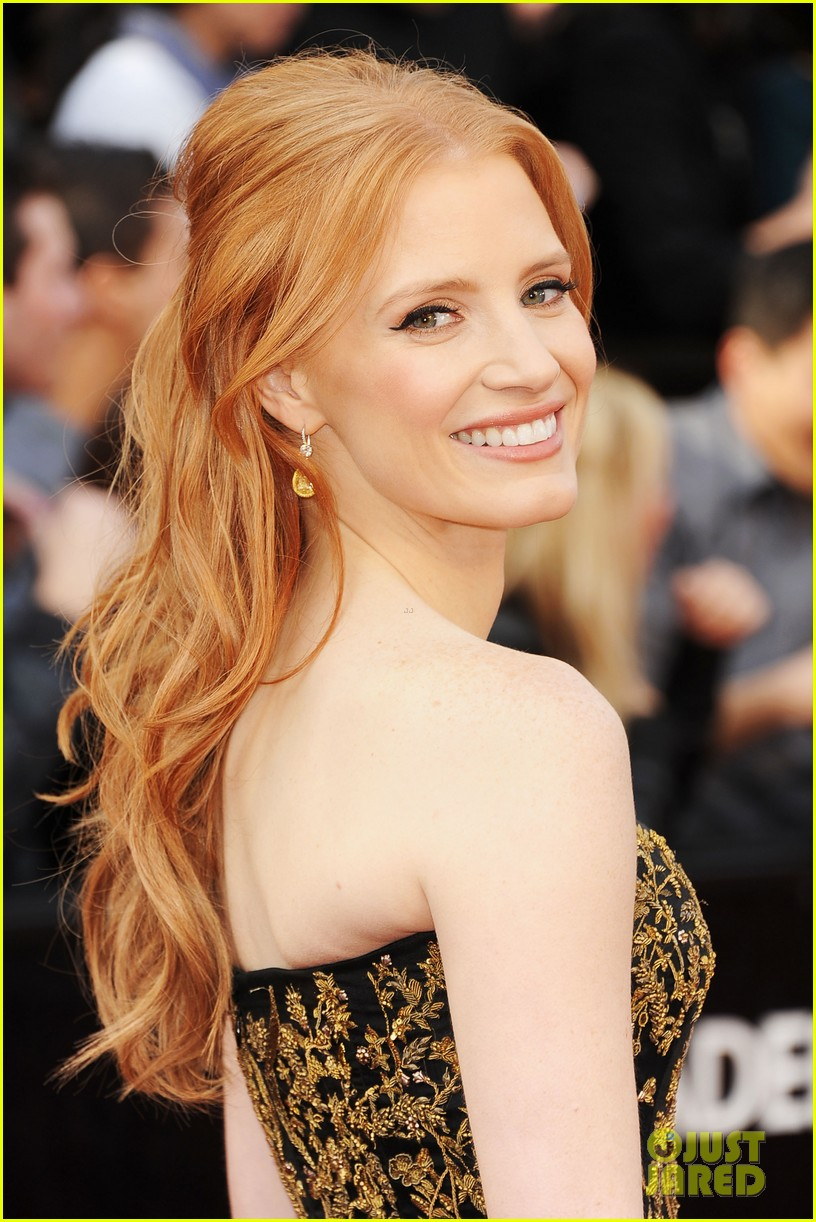 jessica chastain 2012 oscars 022633411