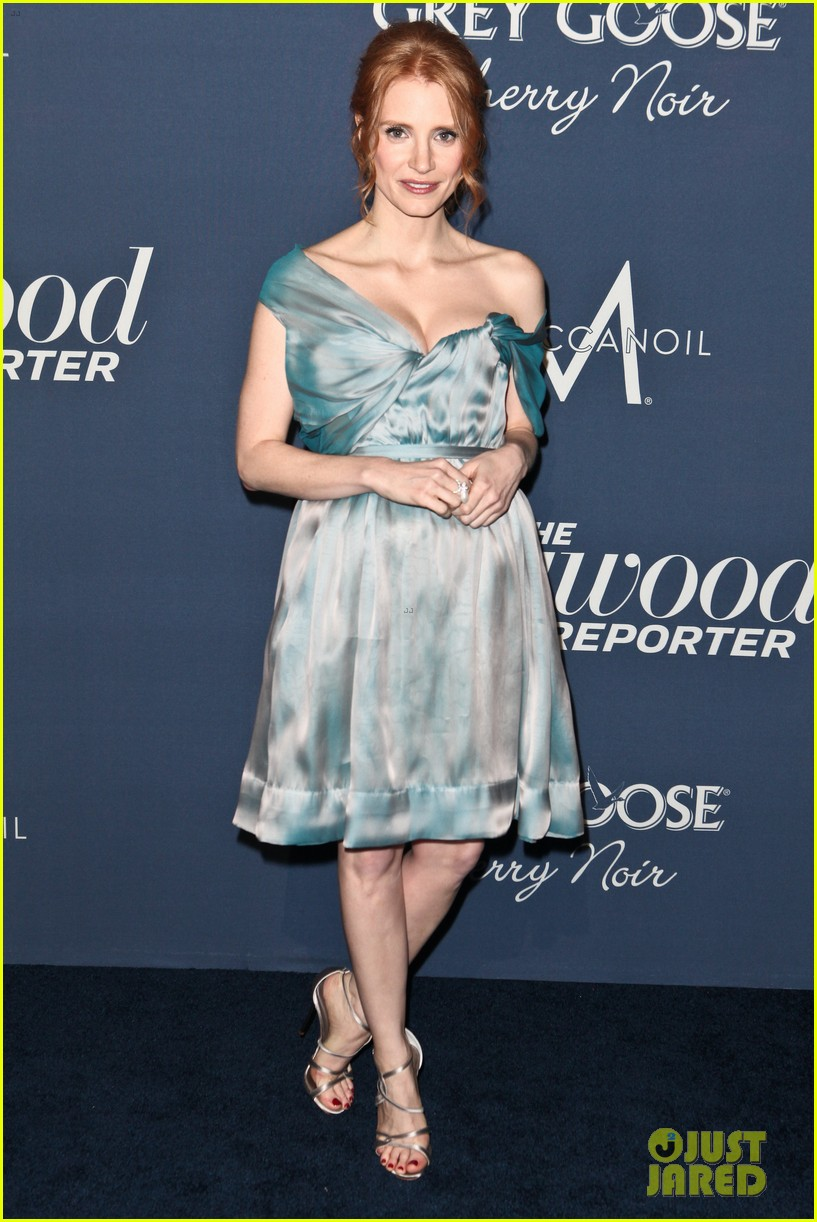 jessica chastain thrs nominees night 2012 08