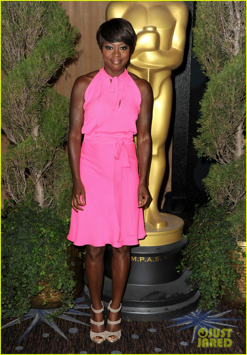 viola davis glenn close oscars luncheon 132626017