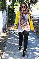 hilary duff pregnant yellow blazer 15
