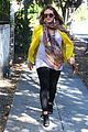 hilary duff pregnant yellow blazer 17