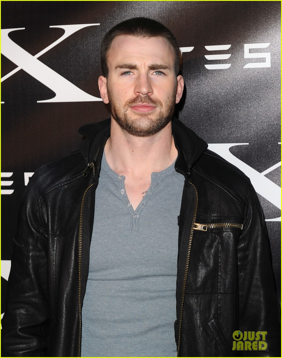 chris evans malin akerman model x 022627287