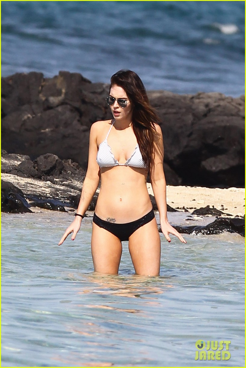 megan fox bikini brian austin green shirtless kona hawaii 22