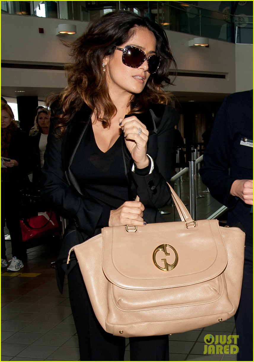 salma hayek lax after oscars 01