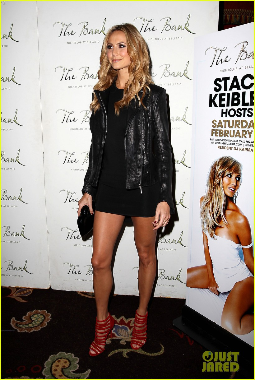 stacy keibler pre super bowl party las vegas 09