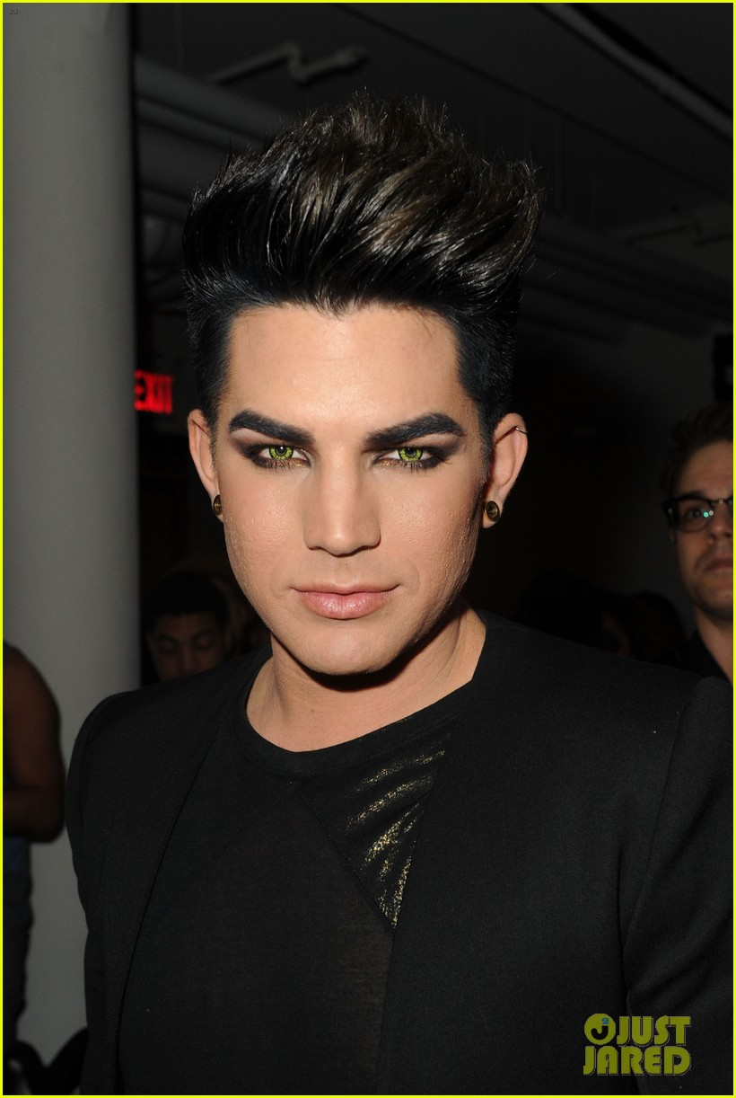 adam lambert sauli koskinen blonds fashion show 052629590