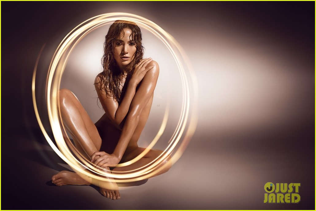 Jennifer Lopez Naked For New Fragrance Ad
