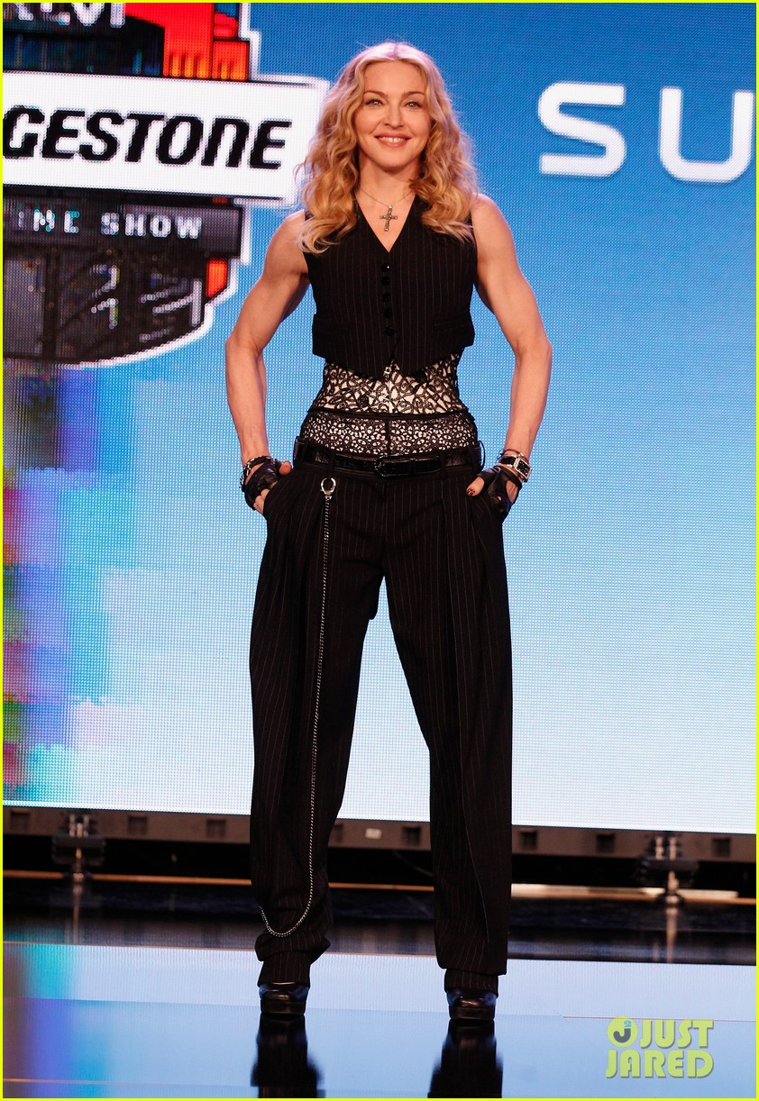 madonna super bowl press conference 07