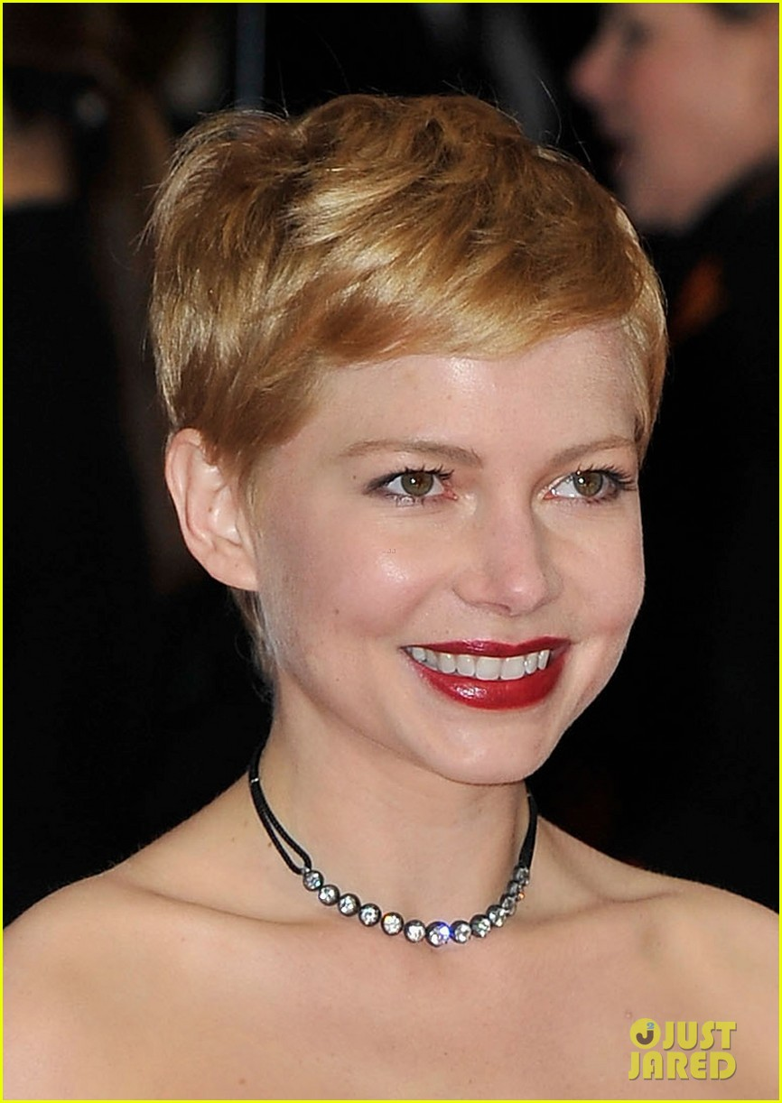 michelle williams bafta awards 2012 02