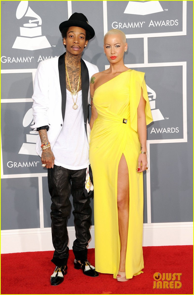 amber rose wiz khalifa grammys 04