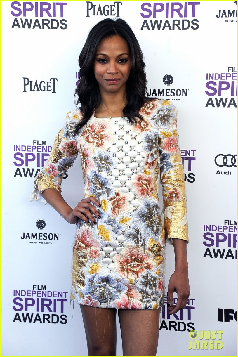 zoe saldana kate beckinsale film independent spirit awards 08