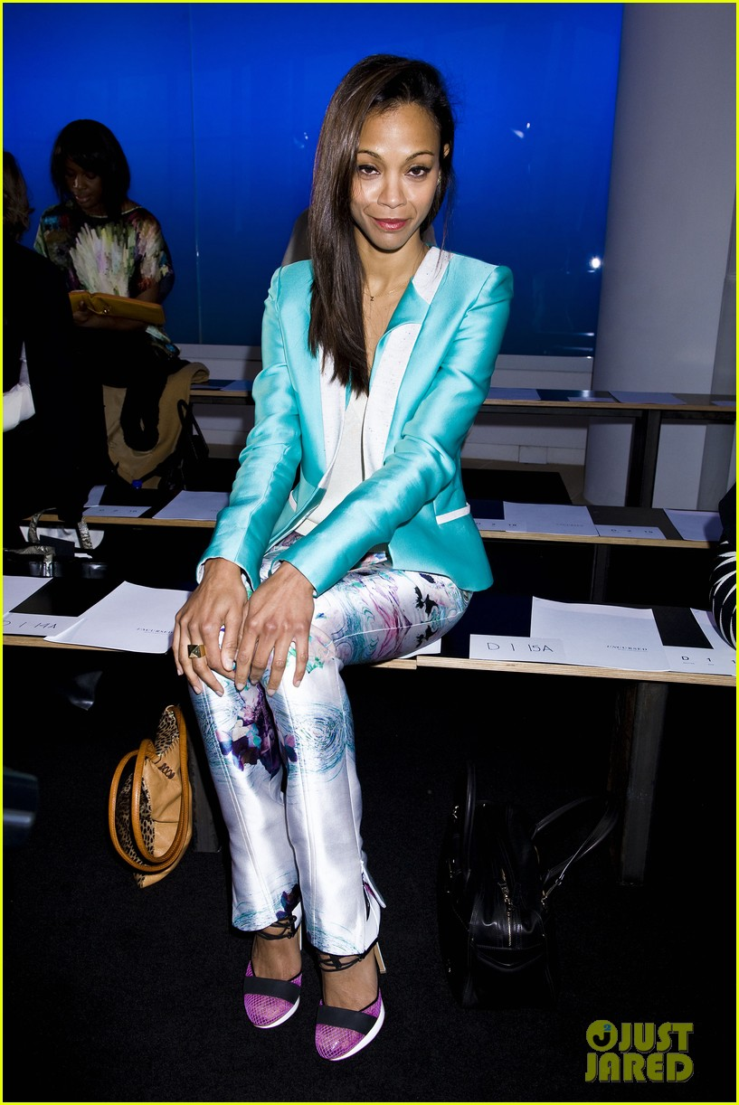 zoe saldana fashion week saturday 09