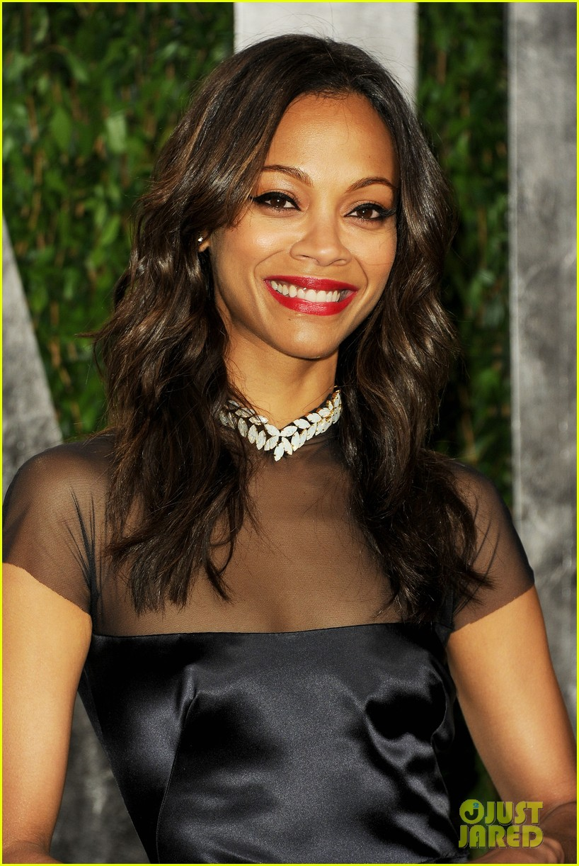 zoe saldana bradley cooper vanity fair party 01